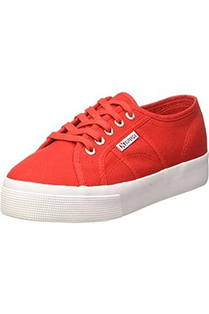 Superga Damen 2730-cotu Gymnastikschuhe, (Red/White C90)