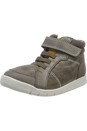 Clarks Mädchen Emery Beat T Hohe Sneaker, (Brown Leather Brown Leather)
