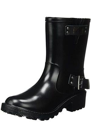 Tommy Hilfiger Damen A1385NNALINA 1R Biker Boots, (Black)