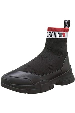 Love Moschino Damen Scarpa Nod. Trekking Hohe Sneaker, (Nero 000)