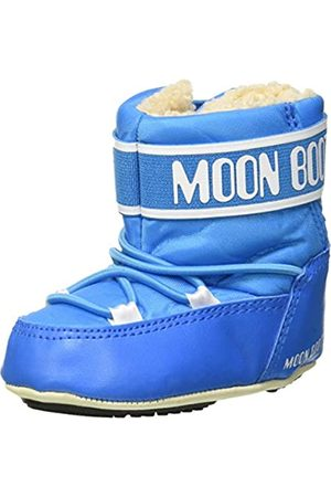 Moon Boot Unisex-Kinder Crib 2 Schneestiefel, (Azzurro 001)