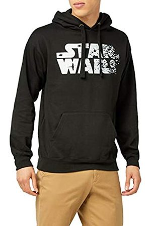 STAR WARS Herren Rebel Text Logo Kapuzenpullover