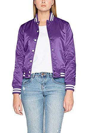 Urban classics Damen Ladies Shiny College Jacket Jacke,, per pack