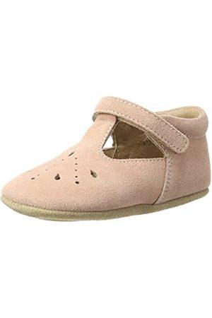 Bisgaard Baby Mädchen Bloom Krabbelschuhe, Pink (12 Peach)