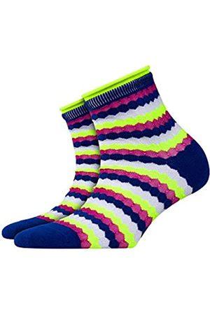 Burlington Damen Socken Bubbly - Baumwollmischung, 1 Paar