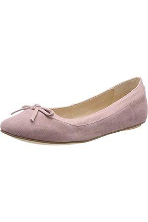 Buffalo Damen ANNELIE Geschlossene Ballerinas, Pink (Light Pink 001)
