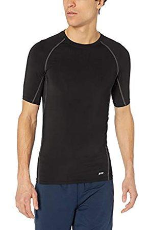 Amazon Herren Control Tech Kurzarm-Shirt, BLACK