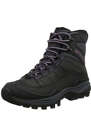 Merrell Damen Thermo Chill Mid Shell Waterproof Schneestiefel, (Black Black)