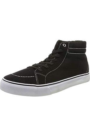 Urban classics Unisex-Erwachsene High Canvas Hohe Sneaker, (Blk/Wht 00050)