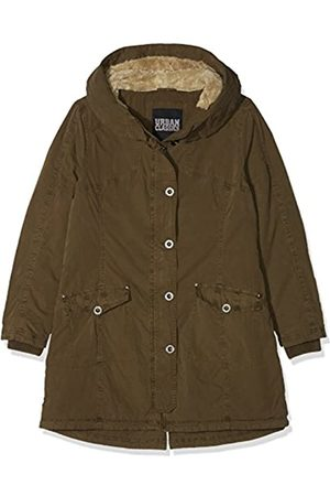 Urban classics Damen Ladies Garment Washed Long Parka