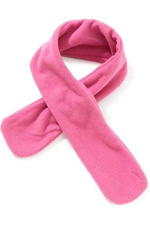 Playshoes Kinder Schal aus Fleece Steckschal kuschelig weicher Halswärmer mit Schlaufe zum Einstecken, Pink (18 Pink)