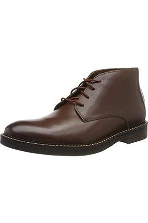 Clarks Men's Paulson Mid Klassische Stiefel, (Mahogany Leather)