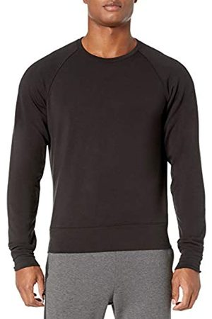 Peak Velocity Yoga Luxe Fleece Crew-Neck Athletic-Sweatshirts
