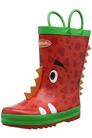 Chipmunks Jungen Ziggy Gummistiefel, (Red 016)