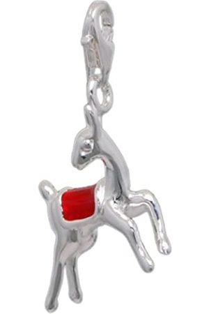 Melina Damen-Charm Anhänger Reh Rudolph 925 Sterling Silber 1801471