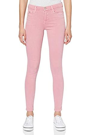 Tommy Hilfiger Damen Nora Mid Rise Skinny Ankle Pnkc Straight Jeans