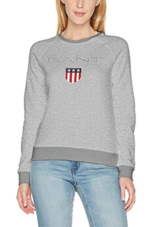 GANT Damen Shield Logo C-Neck Sweat Sweatshirt