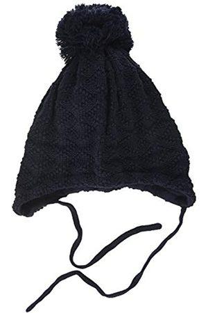 maximo Jungen mit Struktur und Pompon und Bindeband Mütze