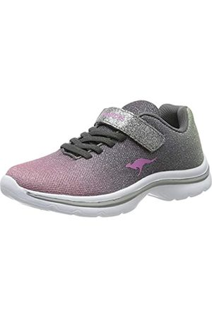KangaROOS Unisex-Kinder Kangashine EV II Sneaker, Mehrfarbig (Metallic Multi 9033)