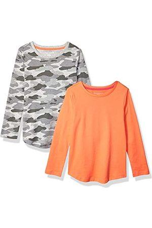 Amazon Girls' 2-Pack Long-Sleeve Tees fashion-t-shirts