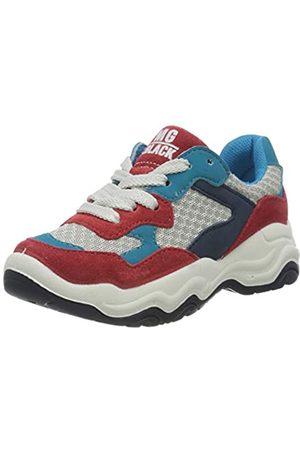 Primigi Jungen Scarpa Bambino Hohe Sneaker, Mehrfarbig (Red/Avorio 5381122)