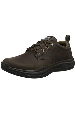 Skechers Herren Expected 2.0 Mokassin, (Brown Leather BRN)