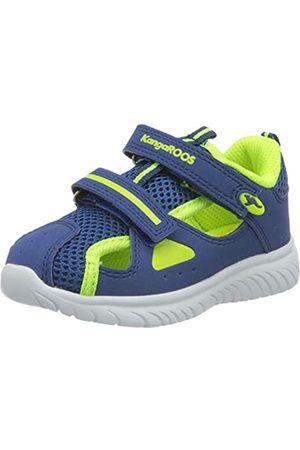 KangaROOS Unisex Baby KI-Rock Lite V Sneaker, (Navy/Neon Yellow 4137)