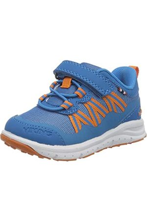 Viking Unisex-Kinder Holmen Sneaker, (Blue/ 3531)