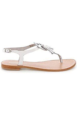 Maria Mare Damen 66528 Kleid-Schuhe, Coco Plata/Vachetta Blanco