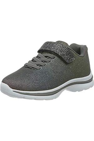 KangaROOS Unisex-Kinder Kangashine EV II Sneaker, (Steel Grey/Rainbow 2129)