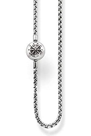Thomas Sabo Unisex-Kette Karma Beads 925 Sterling geschwärzt Länge 80 cm KK0002-001-12-L80