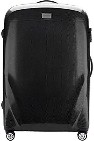 Wittchen Stabiler Reisekoffer Großer Koffer Trolley von Material polycarbonat 4 Lenkrollen Zahlenschloss 4.8KG Kapazität 85 L Farbe