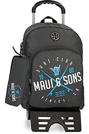 Maui & Sons Maui and Sons Shaka Schulrucksack 44 centimeters 19.600000000000001 (Gris)