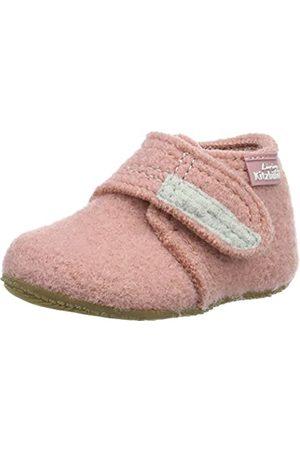 Living Kitzbühel Baby Mädchen Babyklettschuh Krabbel- & Hausschuhe, Pink (Ash Rose 336)