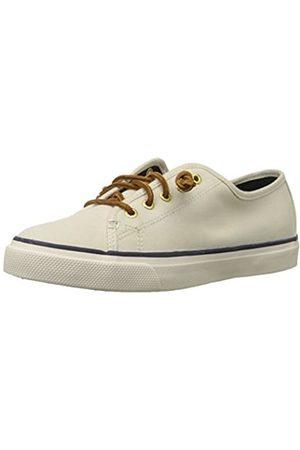 Sperry Damen Seacoast Sneakers, Elfenbein (Ivory)