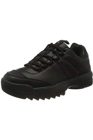 Superdry Damen Chunky Trainer Sneaker, (Black 02a)