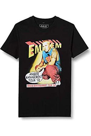 Mister Tee Herren Eminem Anger Comic Tee T-Shirt