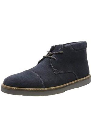 Clarks Herren Grandin Top Klassische Stiefel, (Navy Suede Navy Suede)