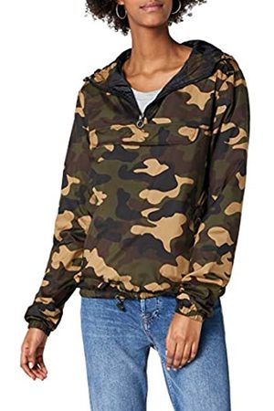 Urban classics Damen Ladies Camo Pullover Jacke, Mehrfarbig (Woodcamo 00841)