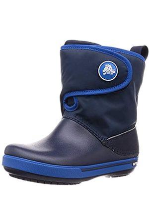Crocs Unisex-Kinder Crocband Ii.5 Gust Boot Schneestiefel, (Navy/Bright Cobalt 4kb)