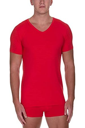 Bruno Banani Herren V-Shirt Check Line 2.0 Unterhemd