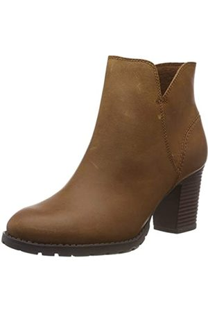 Clarks Damen Verona Trish Schlupfstiefel, (Dark Tan Leather)