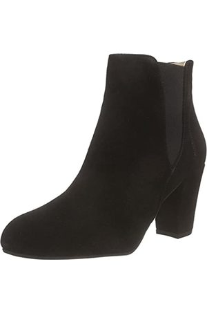Shoe The Bear Damen Hannah Kurzschaft Stiefel, (Black)