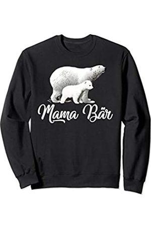 Partnershirts und Familien Outfit by Jean Olivier Mama Bär - süßes Bären Oberteil Geschenkidee Frauen Partner Sweatshirt