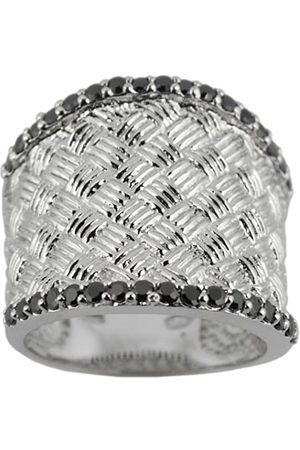 TOUS Damen Ring, Sterling-Silber 925, Zirkonoxid, 52 (16.6)