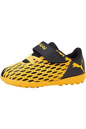 Puma Unisex-Kinder Future 5.4 Tt V Inf Botas de fútbol, (Ultra Yellow Black)