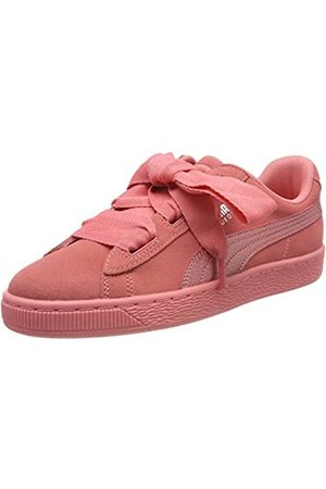 Puma Mädchen Suede Heart SNK Jr 364918-05 Sneaker, Pink (Shell Pink)
