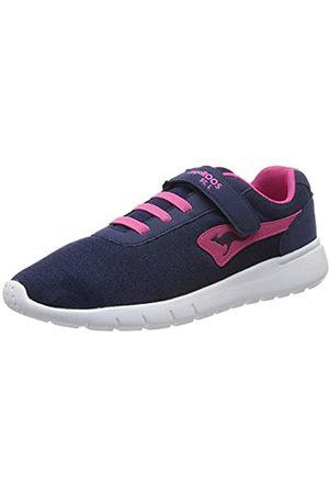 KangaROOS Unisex-Erwachsene K-Gard EV Sneaker, (Dk Navy/Daisy Pink 4204)
