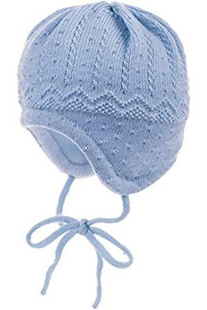 maximo Baby-Jungen, ausgenäht, Bindeband, Struktur Mütze
