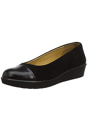 Hotter Angel, Damen Ballerinas, (Black 001)